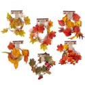 Garland Leaf 3.28ft Fall 6ast 3styles/2clrs Harvest Barbell