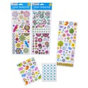 Sticker Variety Pack W/gems 3ast Spring Themes Pbh 2 Page Stickers/1 Page Stkr Gems