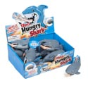 Hungry Shark Squeeze Action Pop- Out Severed Foot 12pc Pdq/hngtag