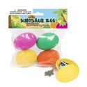 Dino Eggs W/mini Toy Inside 4pack 1.375 X 2in/pbh
