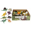 Dino Figure Plastic 2.5 X 4.5in 8ast W/ht In 36pc Display Box