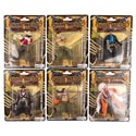 Wild West Action Figure 6ast Styles Pvc Blister Card