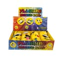 Ball Emoticon Flash Light Up 12ast In 12pc Pdq/upc Label