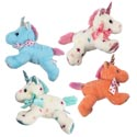 Plush Valentine Unicorn 9in 4ast 9x4x7i Solid/star Print/ht