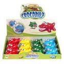 Wind-up Toy Crocodile 4ast Clrs 12pc Pdq