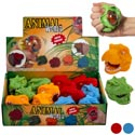 Dino Head W/squishy Bubbles 4ast In 12pc Pdq Pb/lab *2.99* Blue/green/red/orange Age 5+