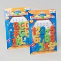 Magnetic Learning Set 26ct 2ast Numbers/letters On Blstr Card ** No Amazon Sales **
