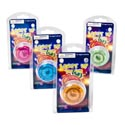 Yo-yo Light-up 4ast Transp Tints Clampacked In 36pc Pdq