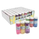 Bubbles 3pk 4oz Translucent Ast Color Bottles In 24pc Tray Pdq Shrink W/color Label