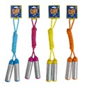 Jump Rope 7ft Laser Handle 4asst Pink/blue/orange/yellow Tiecard
