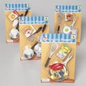 Chef Jr Cooking Playset 5/6pc Plated Pans/tools W/boxed Food Blister Card