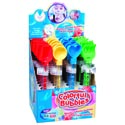 Bubble Wand W/sand Tool Top 11in 4ast Styles 24pc/pdq Upc Label
