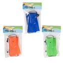 Swimming Fins Pair Kids Size 3asst Colors Summer Polybag/hdr