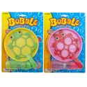 Bubble Playset W/tub & 2ast Wand Ladybug/frog W/4 Oz. Bubbles & 6.5in Tray/blister Card
