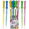 Bubble Wand 24in 4ast 9.1 Fl Oz  12pc Pdq