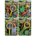 Bug Catcher Adventure Set 4asst W/net/tweez/magnify Blc