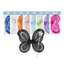 Fairy Wings 2-tone W/wand 9asst Colors 15in Pbh