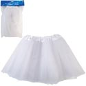 Angel Tutu White Netting 11in Pbh