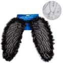 Angel Wing Costume W/feather Trim 2ast White Or Black Tcd