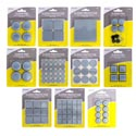 Slider Pads/protectors/gliders 12 Asst In 118pc Floor Display Home Blister Card