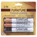 Furniture Touch Up Repair Marker 3asst Wood Colors Blister