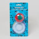 Sewing Pin Cushion Tomato/40ct Straight Pinwheel Set Sew Blc