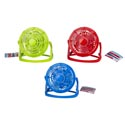 Fan Mini Tabletop 4inx4.5in H 3ast Colors Plst Summer Ht 2aa Batteries Not Included