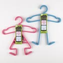 Hanger Kids 3pc Plastic 2ast Pink Girl/blue Boy Hsw/slve Card