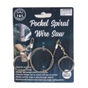 Pocket Spiral Wire Saw 22in S/s Wire Camping Tcd Great Use For Camping