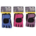 Gloves Workout W/adjustable Wrst Wrap S/m/l In 3colors Headercard