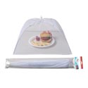Food Umbrella Mesh Cover 17in Rectangle White/summer Pbh