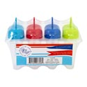 Ice Pop Mold 4pk W/reusable Stix **& Dripguard Shrink/summer Lab For Fruit/yogurt And Juice