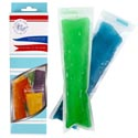 Ice Pop Molds Disposable 18pk 8.5 X 2in Zipbag/color Boxed Bpa Free/food Grade Material