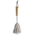 Basting Brush Mop Style 12in Cotton Head W/metal & Wood Hndl Bbq Ht