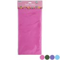 Tablecover Pe 54x108 4ast Solid Spring Pastels Pbh Pink/green/purple/blue