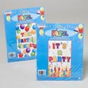 Party Mural 42x72 Birthday Its A Party Or The Partys Here Polybag Insert Card