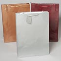Gift Bag Jumbo Emboss Lizard 6 Asst Solid Colors Upc Label 13 X 18 X 4