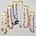 Necklace Party Combo 6 Styles 1-3pks Bday/$/guitar/peace/stach Party Tcd