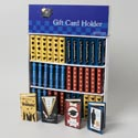 "Giftcard Holder Book Shape 4ast Grad Styles 36pc Bookshelf Pdq 3x5x1"" Grad Label"