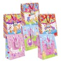 Gift Bag Lg Circus/princess 6asst 10 X 12.5 X 5in Upc Label Hangtag/jhook