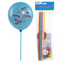 Balloon Sticks With Cups 6pk 12in L Party/pbh