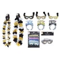 New Year Party Costume Assortmnt 6ast Lei/mask/headband/glasses