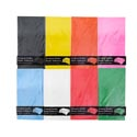 Tablecover 54x108 Pe Plastic 8asst Solid Colors/prntd Pb