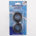 Lint Trap Metal Mesh 2pk **w/cable Ties Clamp Cleaning Blister Card