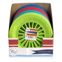 Paper Plate Holder 3pk Plastic 4ast Summer Colors In 36pc Pdq