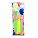 Straws 30ct Shake & Smoothie 9in Neon Colors Bpa Free/pbh