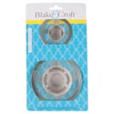 Strainer Mesh 2pk Stainless Small 2.875inl/large 4.375in Kitchen Tcd