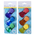 Bag Clip 3pk Magnetic W/grip 2ast/6 Colors/12pc Mdsgsrip Kitchen Backer Card
