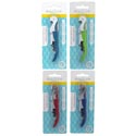 Corkscrew Waiters 4ast Colors **b&c Blc/12pc Mdsgstrip