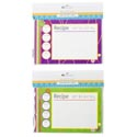 Recipe Cards 20ct 2ast Prints B&c Pbh/12pc Mdsg Strip